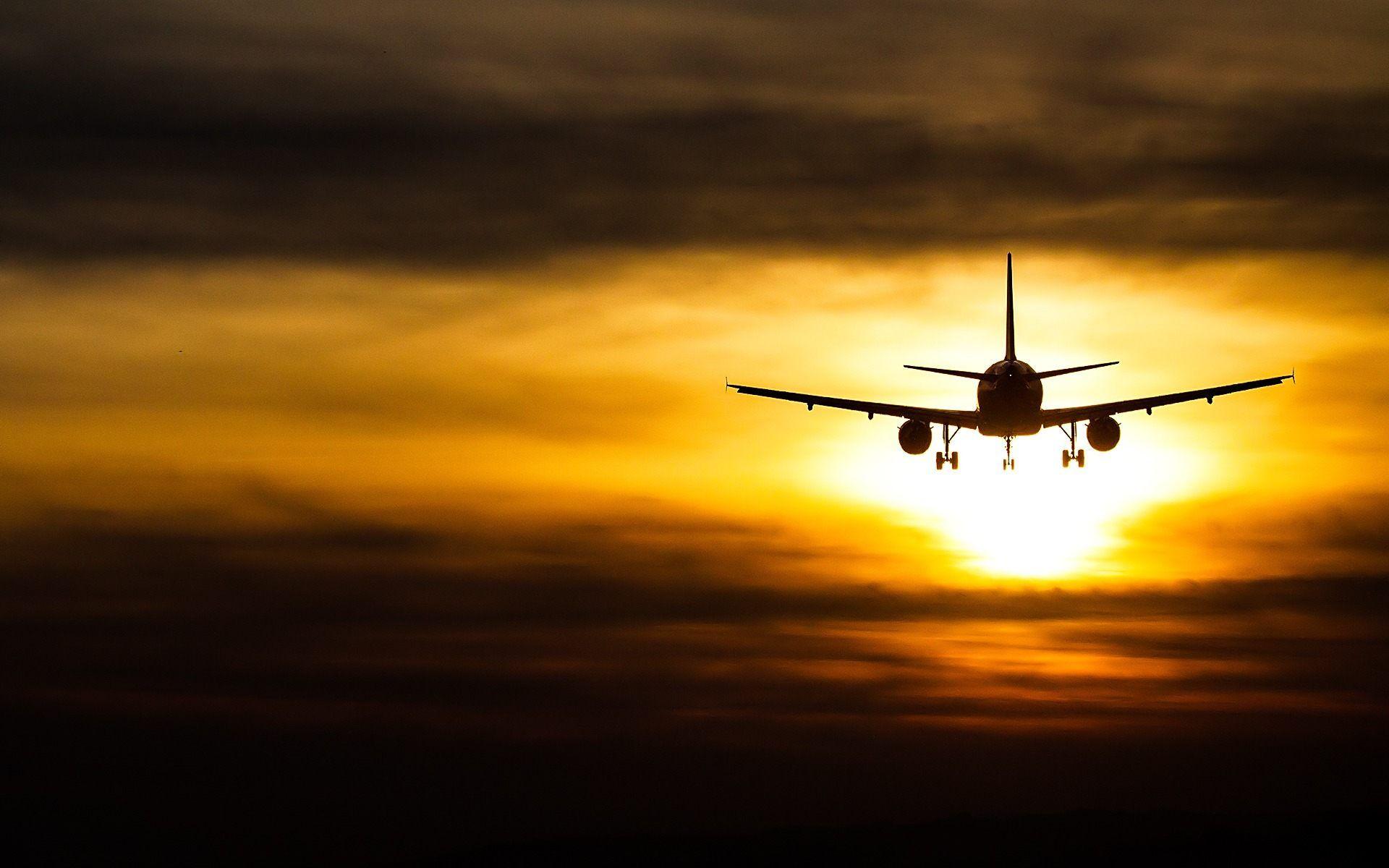 Plane Sky Altitude Flight HD desktop wallpaper Widescreen