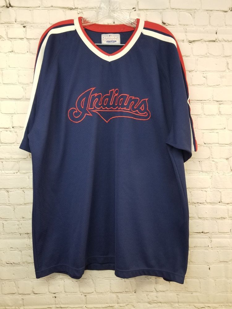 4910019aa Majestic MLB Mens Cleveland Indians Baseball Shirt size 2X   24.50 End  Date  Friday Jan
