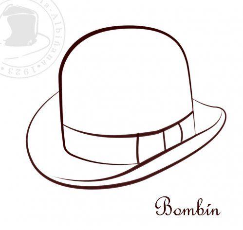 Sombreros para Colorear | Sombrericos | Pinterest