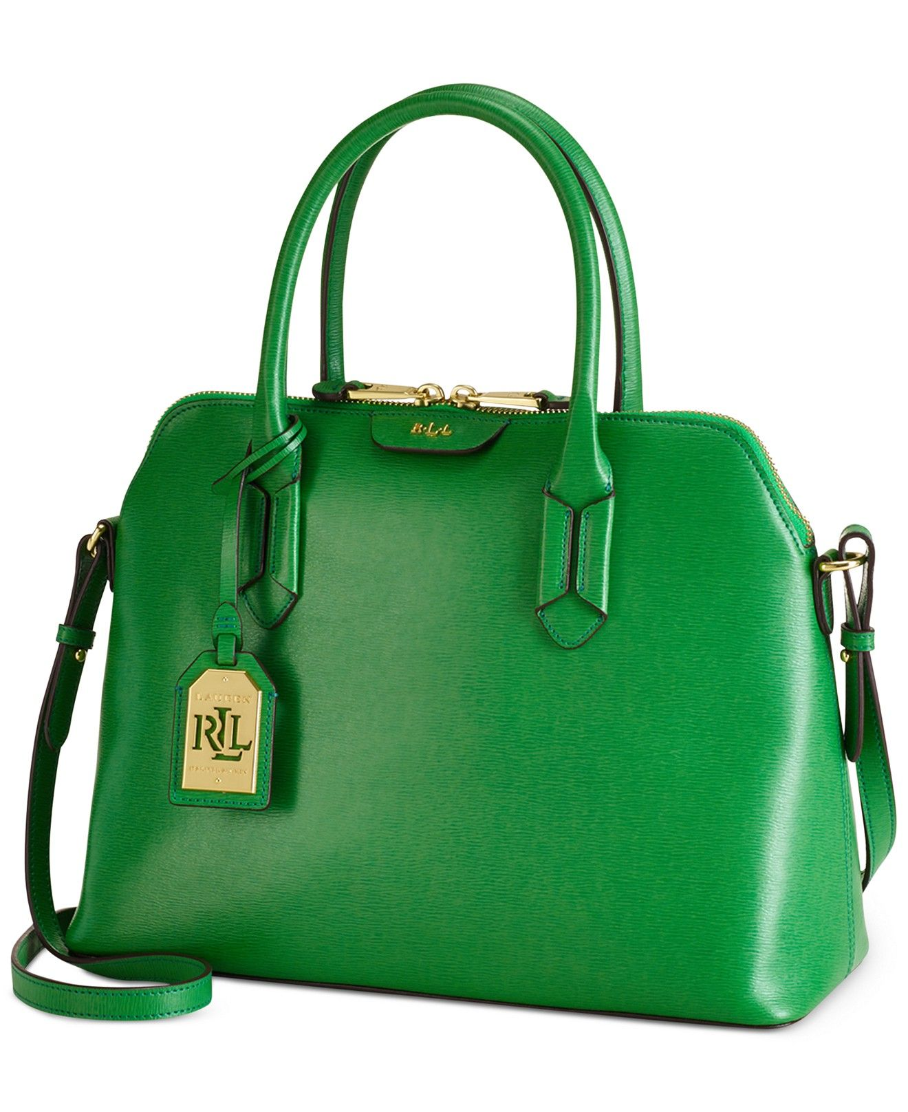 Lauren Ralph Lauren Tate Dome Satchel Designer Handbags Handbags Accessories Macy S Umhangetasche Leder Ledertasche