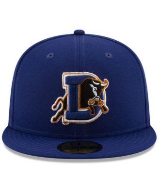 New Era Durham Bulls League Patch 59fifty Fitted Cap Blue 7 New Era Sports Fan Shop Macys Fashion