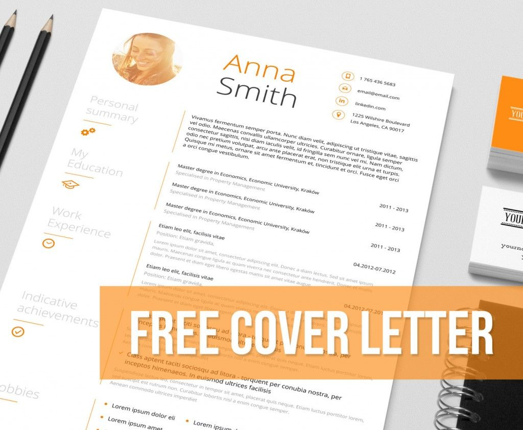 resume examples free cover letter anna smith personal summary designer resume templates free my education - Unique Resume Templates Free