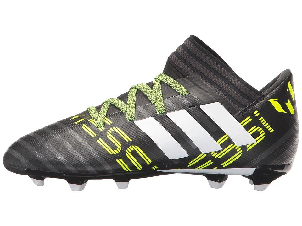 separation shoes 5950d 700be adidas Kids Nemeziz Messi 17.3 FG J Soccer (Little KidBig Kid) Kids Shoes  Core BlackFootwear WhiteSolar Yellow