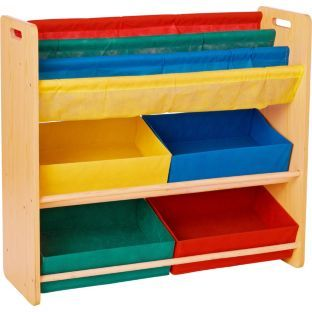 buy children 39 s toy storage and bookcase unit at. Black Bedroom Furniture Sets. Home Design Ideas