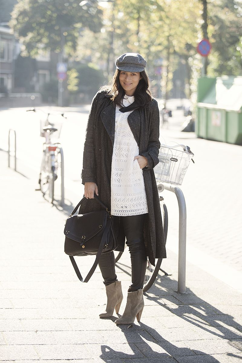 street style look fall winter 2015 BlogForShops styling Isabel Marant, Jerome Dreyfuss, Ruby Tuesday Brand, Vanessa Bruno, Paul and Joe, Forte Forte