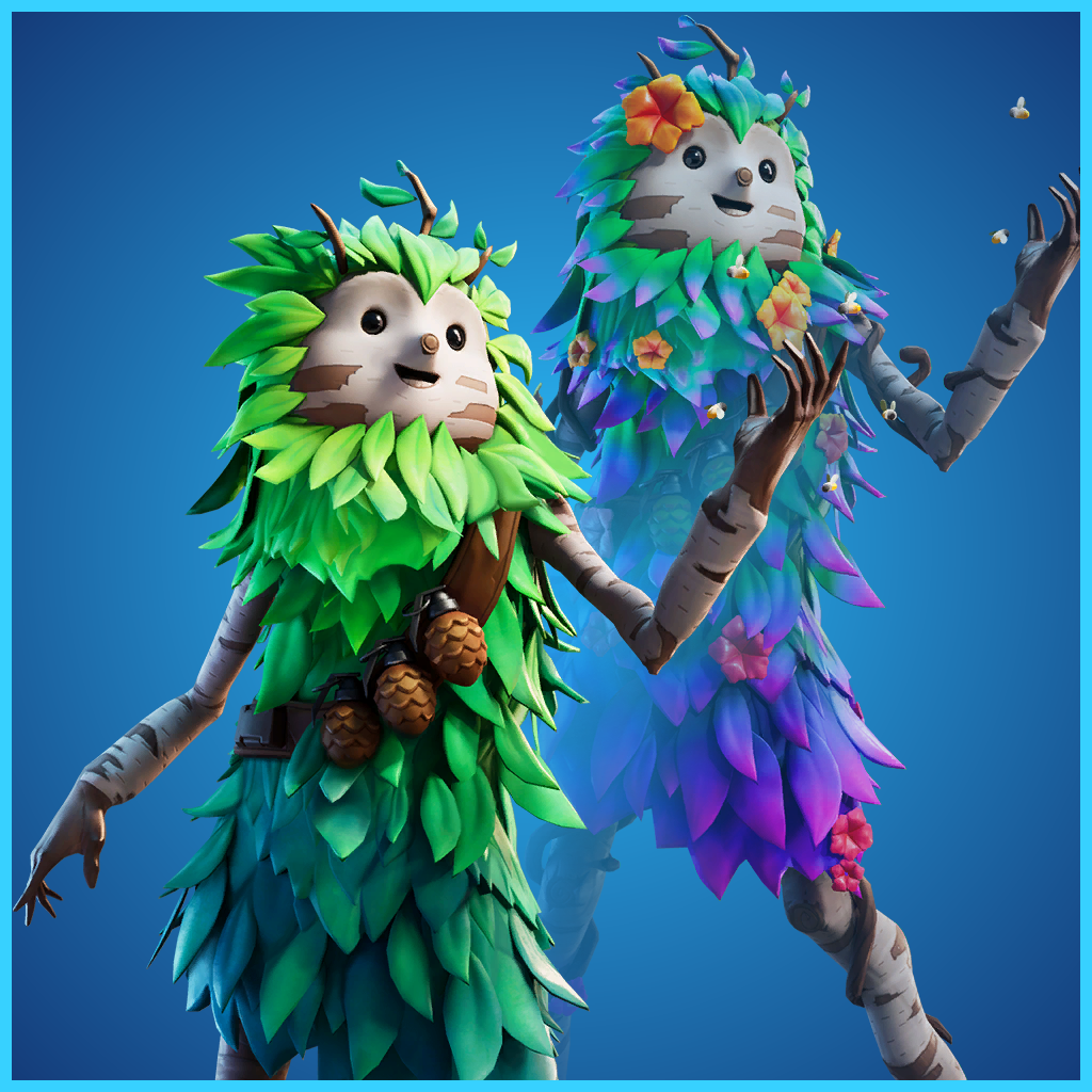 He S One Scrappy Little Tree Fortnite Skins Characters Game Guide