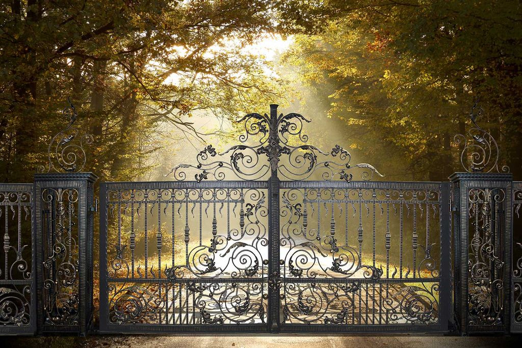 bespoke-wrought-iron-gates-Venus   North Valley Forge Wrought Iron Gates   Flickr