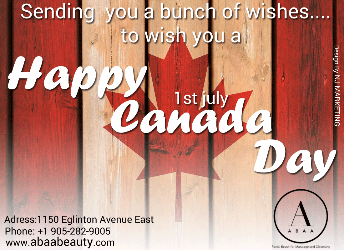 Happy Canada Day Friends! Hope You and Yours Have a Great and Safe Summer! #ABAA Beauty Supply