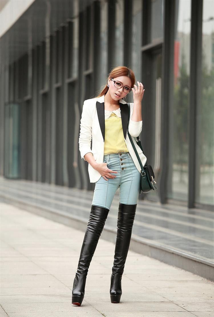 thigh high boots | kk | Pinterest | High boots and Thighs
