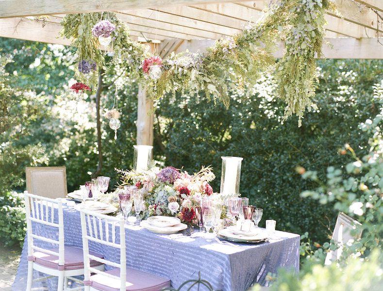 Watercolor Garden Party Wedding Ideas | Wedding garters, Spring ...