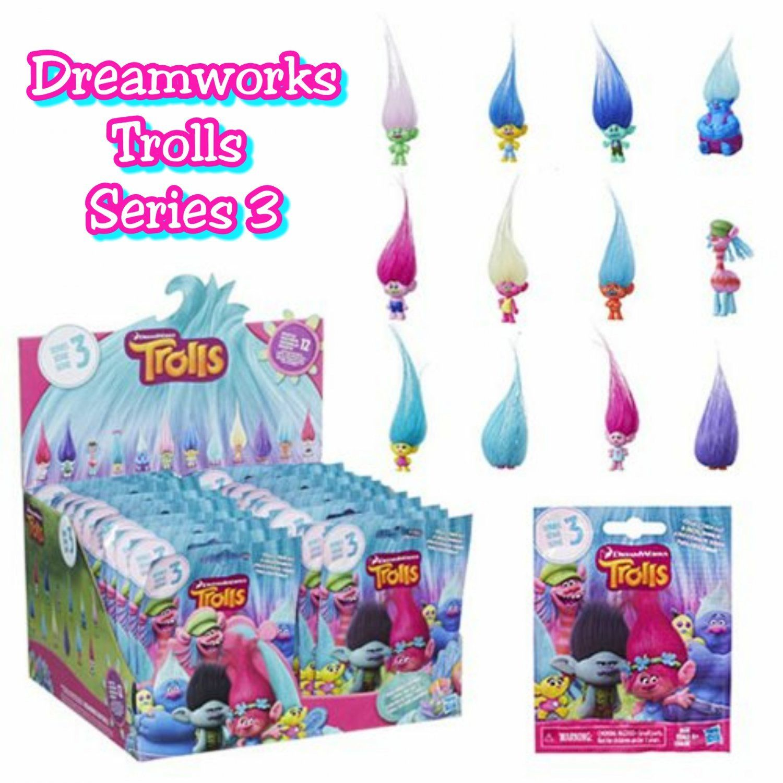 8ae69bb80b0e6 DreamWorks Trolls Movie Surprise Mini Figure Series 3 Mystery Blind ...