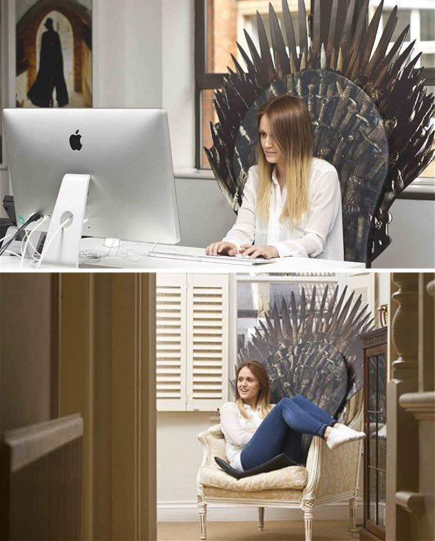Official Of Thrones Cushioned Seat