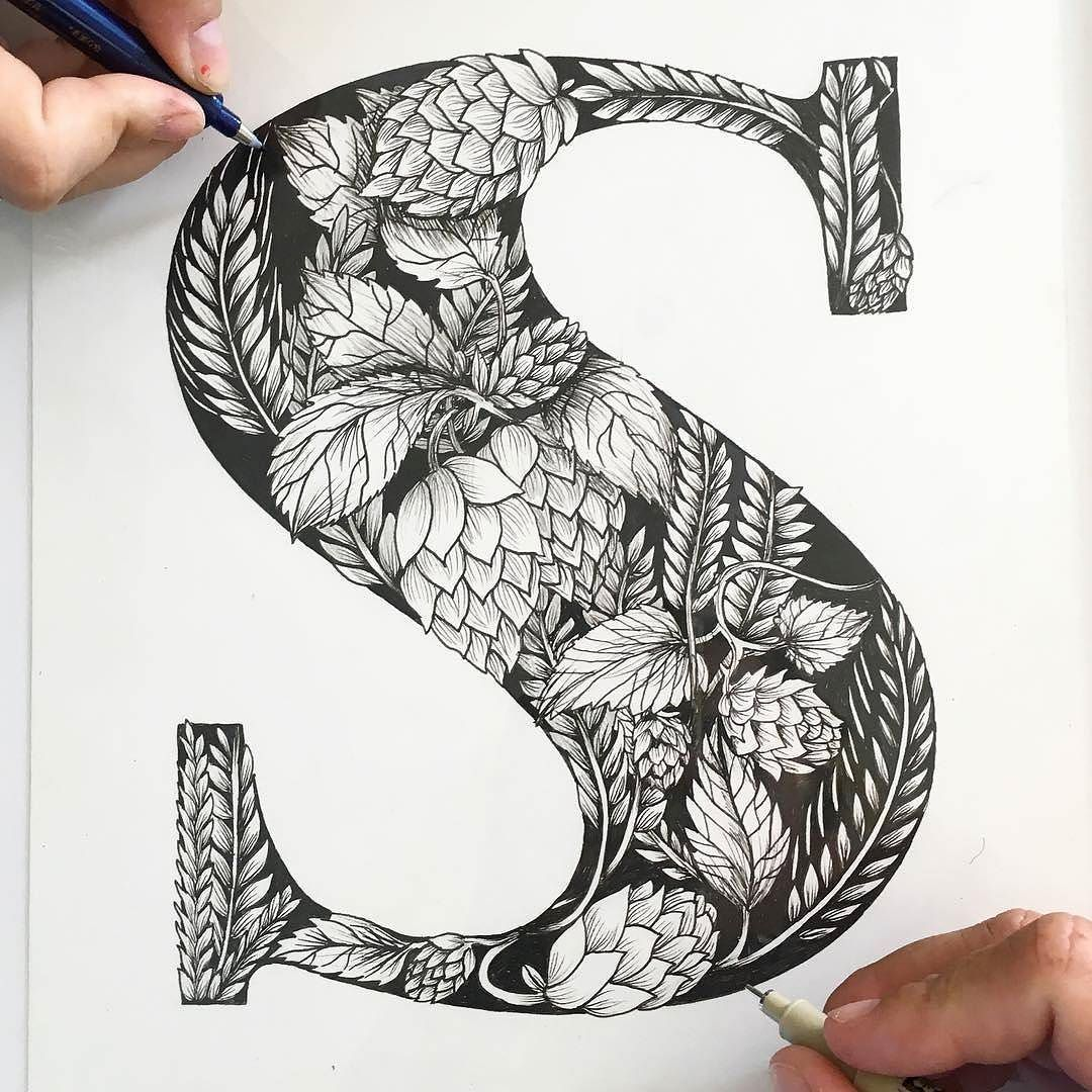 Beautiful work by @phoooebers and @roxyprima - #typegang - typegang.com | typegang.com #typegang #typography