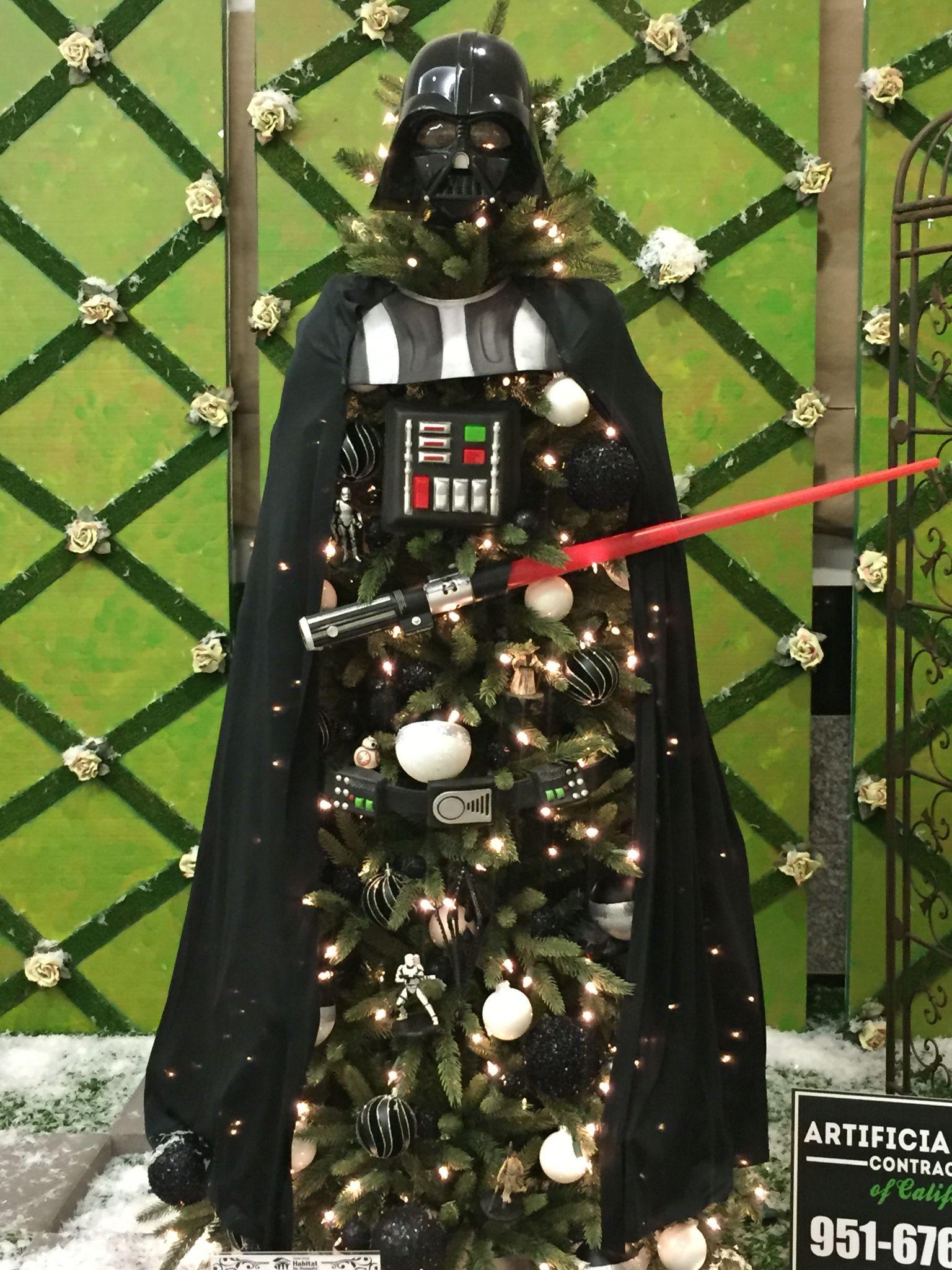 Star Wars Inspired Christmas Tree On Pretty My Party Black Christmas Tree Decorations Star Wars Christmas Tree Christmas Trees For Kids