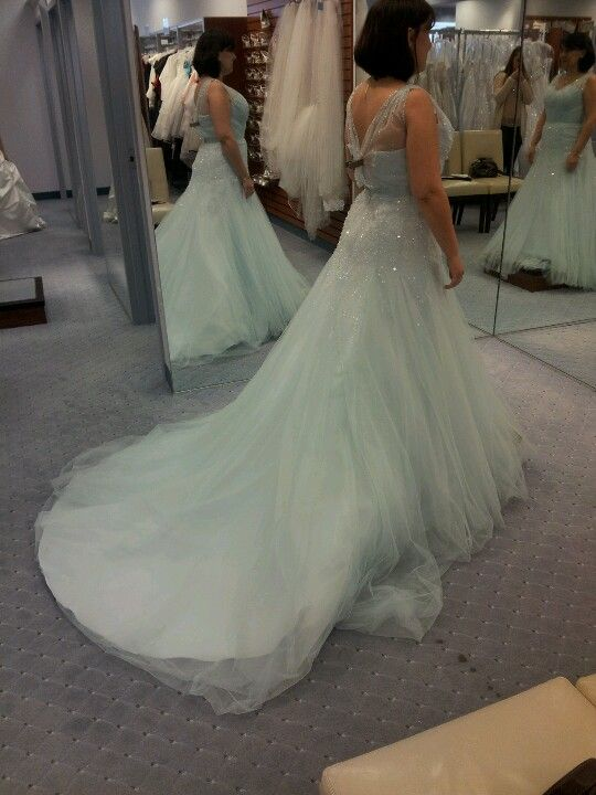 Side view of Cinderella Diamond Collection gown