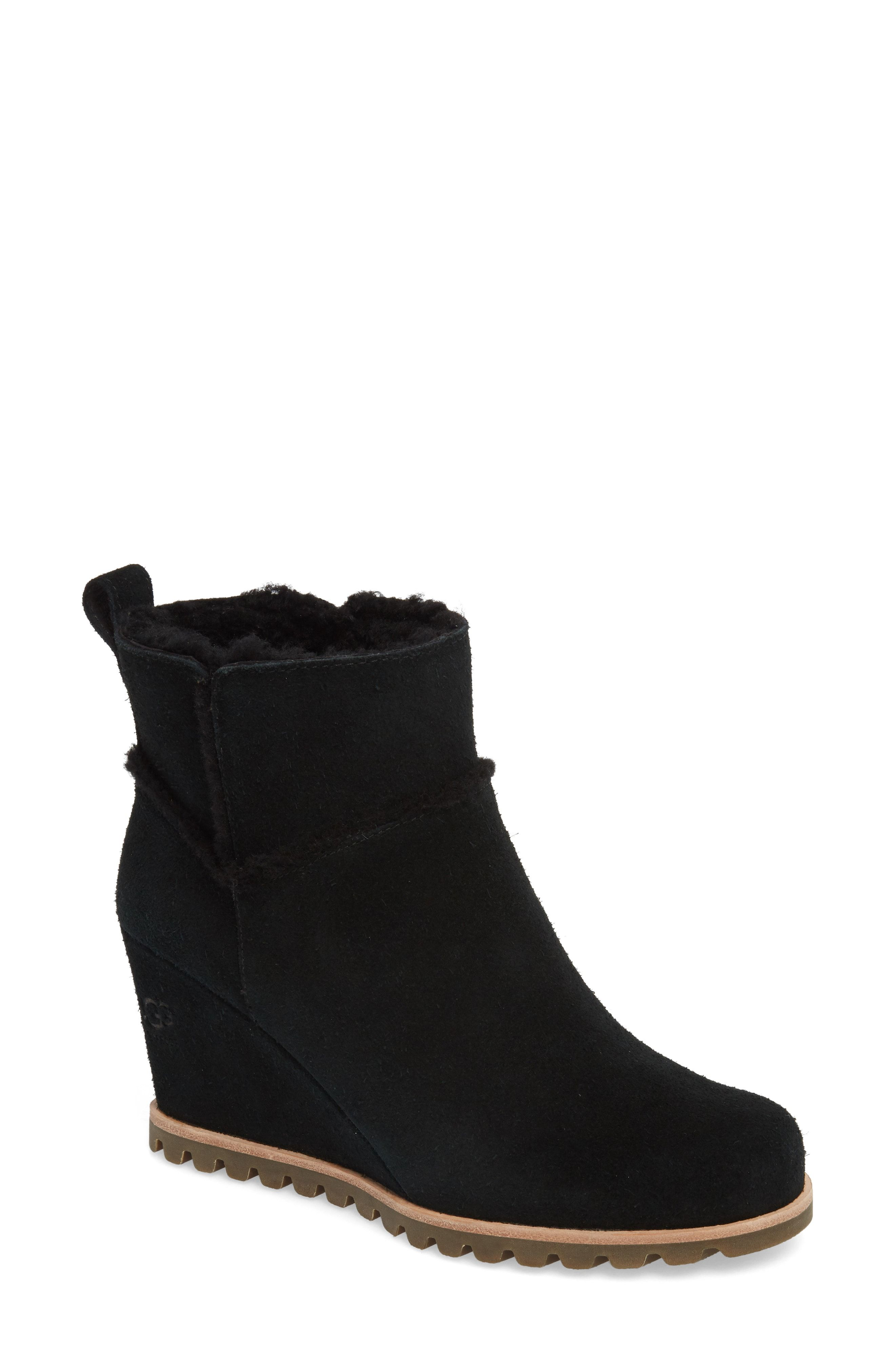 b9259eca0f2 UGG® Marte Waterproof Wedge Bootie available at  Nordstrom ...