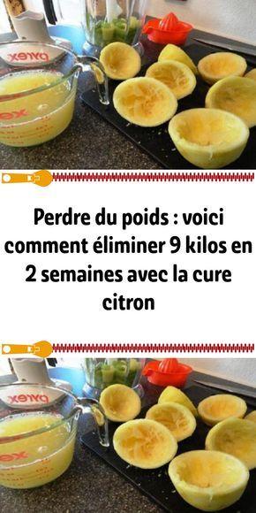 Perdre du poids : voici comment éliminer 9 kilos en 2 semaines avec la cure citron