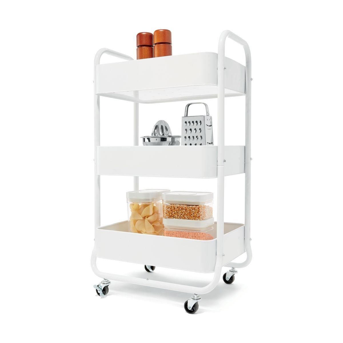 3 tier kitchen trolley kmartnz kitchen trolley design