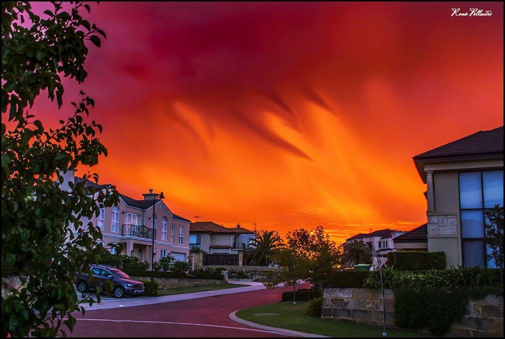 Perth Suburban Sunset