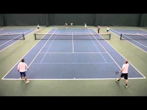 Doubles High School Coaching Drills Dingles Serve And Volley Youtube Tennis Drills Tennis Workout Tennis