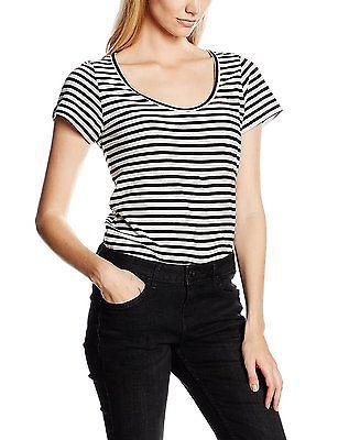 Mehrfarbig (stripe white Garcia Women's T-Shirt