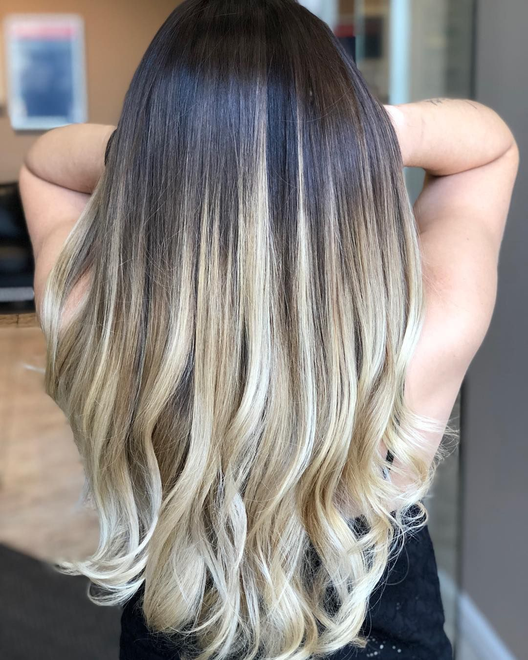Victoria Caputo On Instagram Nothing Better Than A Dark Root And Light Ends Balayage B Dark Brunette Balayage Hair Balayage Hair Balayage Hair Dark