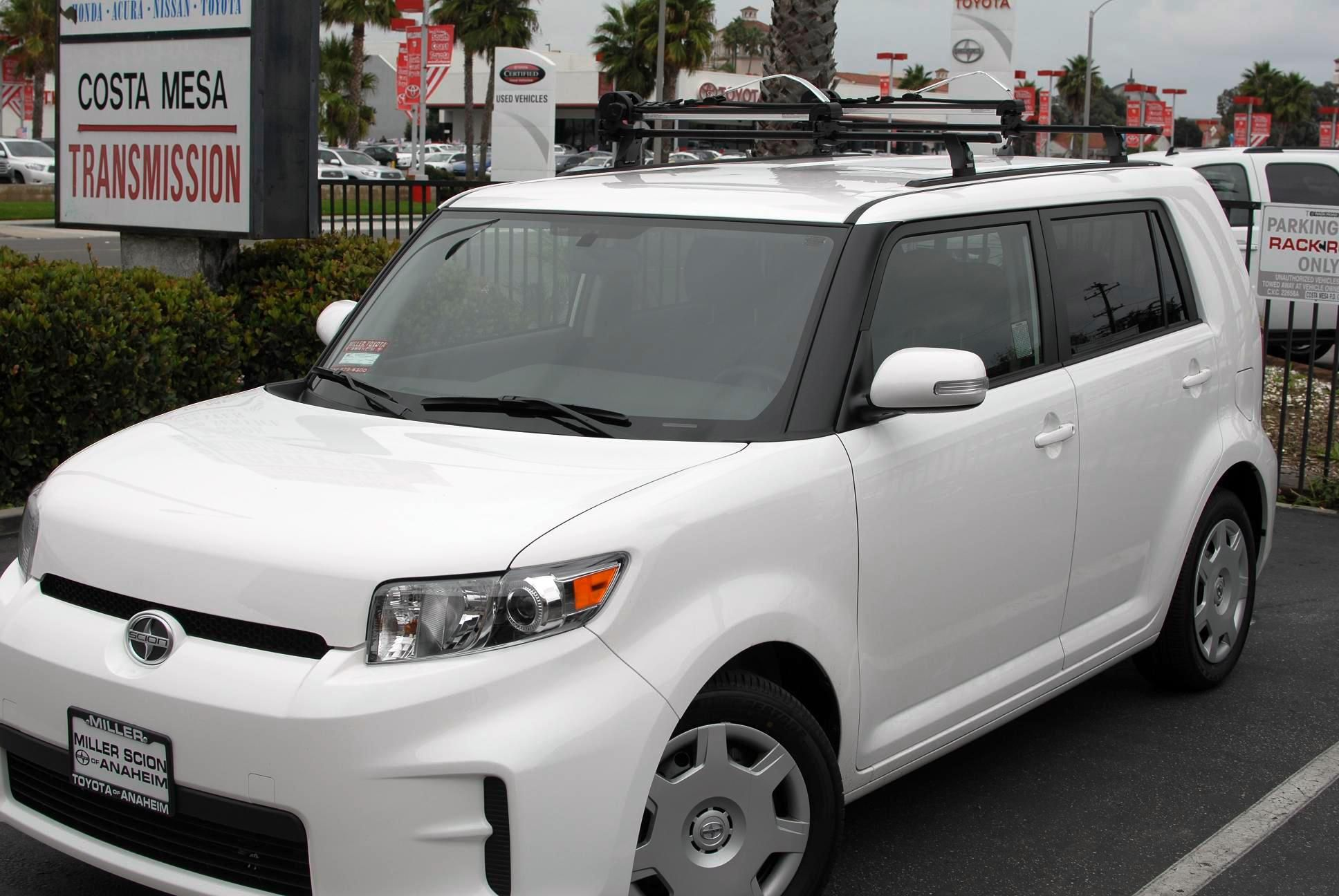 Scion Xb Featuring A Thule 430 Setup With Tracks Car