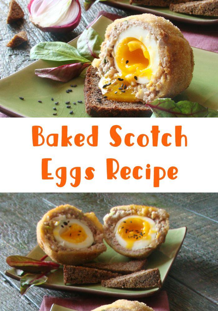 Baked Scotch Eggs Recipe