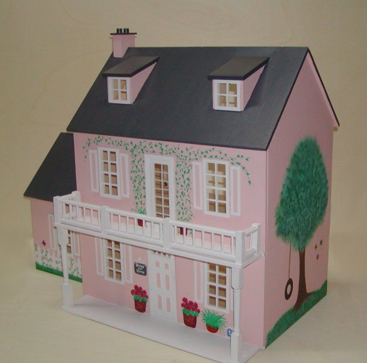 Cindy S House Doll House House Painting Homemade Machine