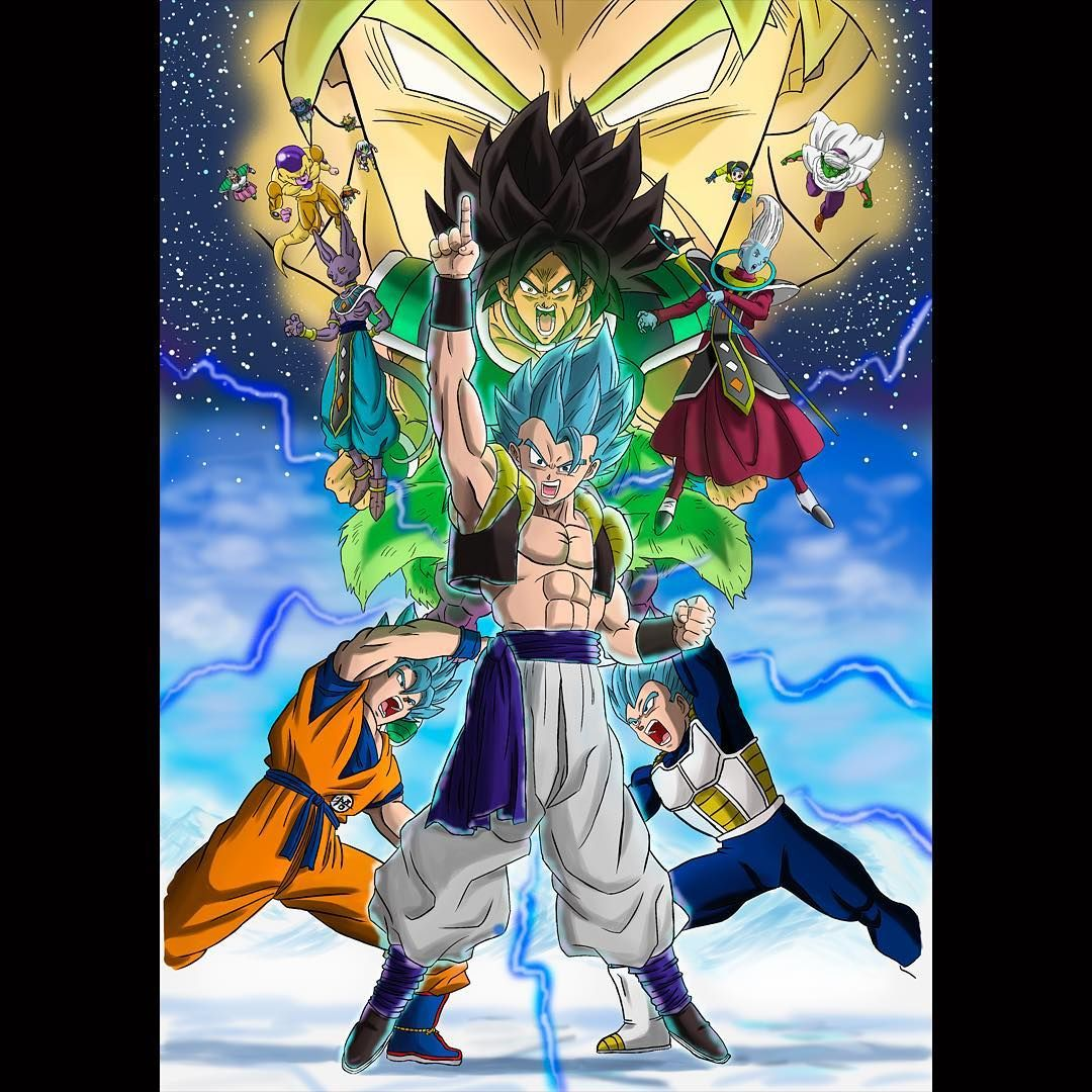 2274f378ed A Fusion Reborn style poster of the lastest Dragon Ball Super Broly film # dragonball #dragonballsuper…