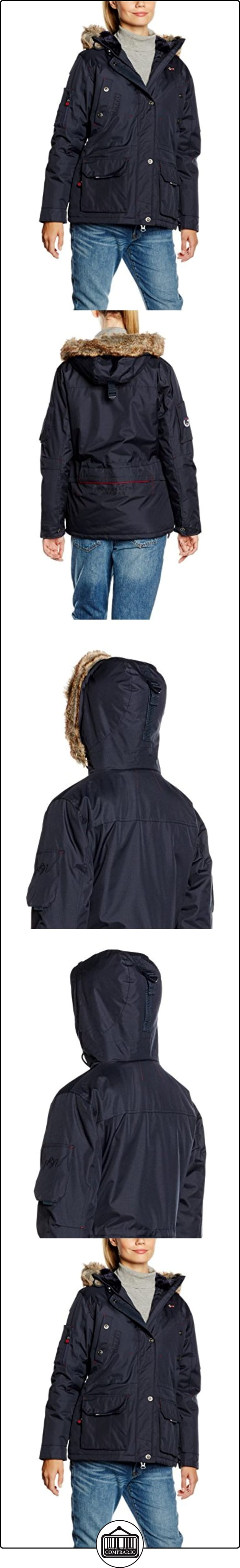 navy Para Azul Lady Geographical Mujer Parka Norway Achem Large nqUHUCwF0