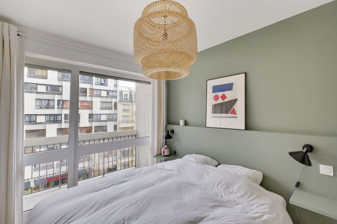 Appartement 2 pièces 18e Paris 50 m2 modernisés
