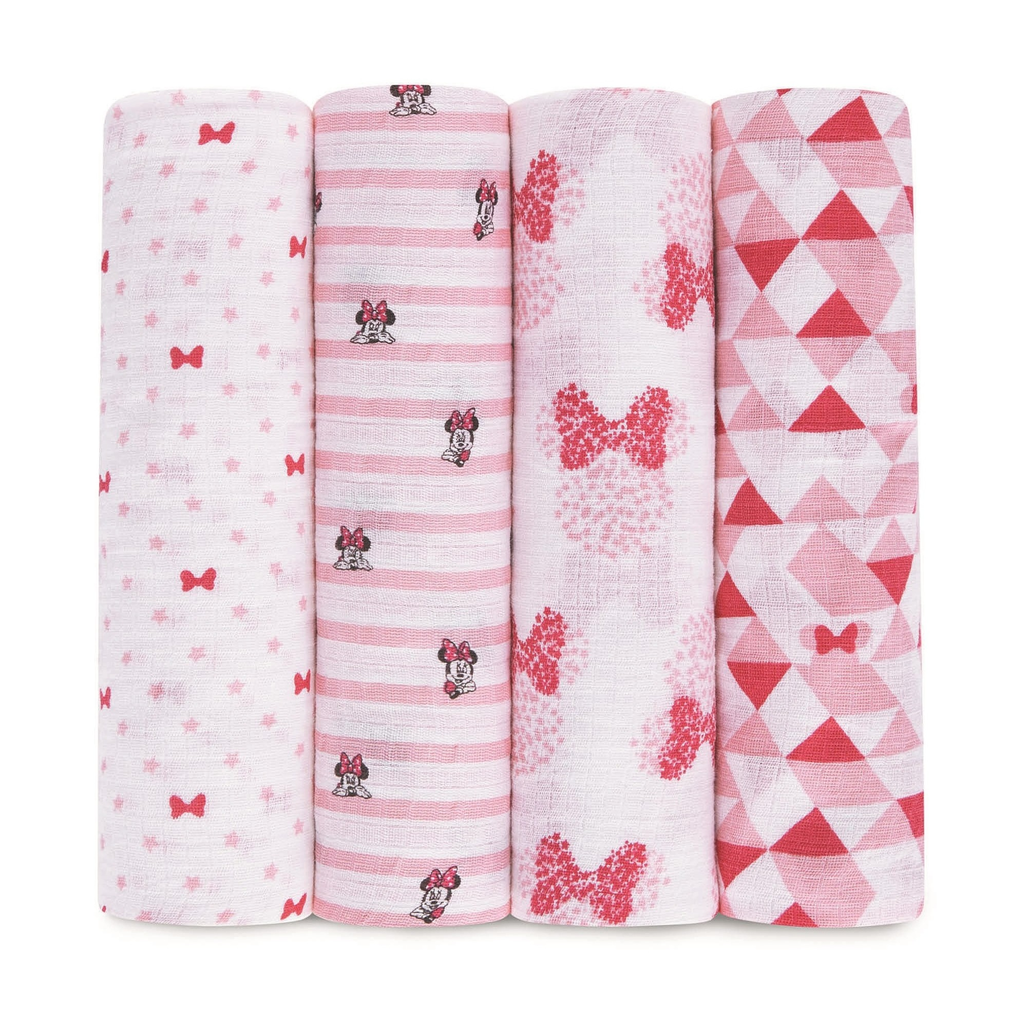 09b3bc2c846b Aden by Aden + Anais Muslin Swaddle - 4pk - Disney - Minnie