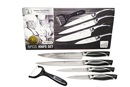 Imperial Collection Stainless Steel 5piece Kitchen Knife Set With