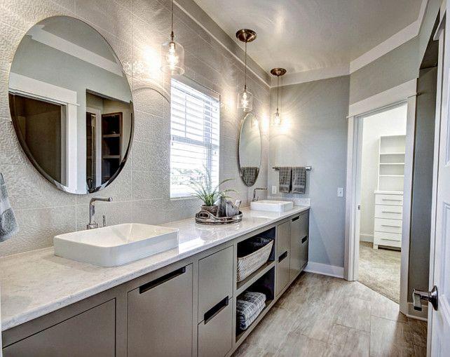 bathroom ideas transitional bathroom with gray cabinet bathroom graybathroomcabinet