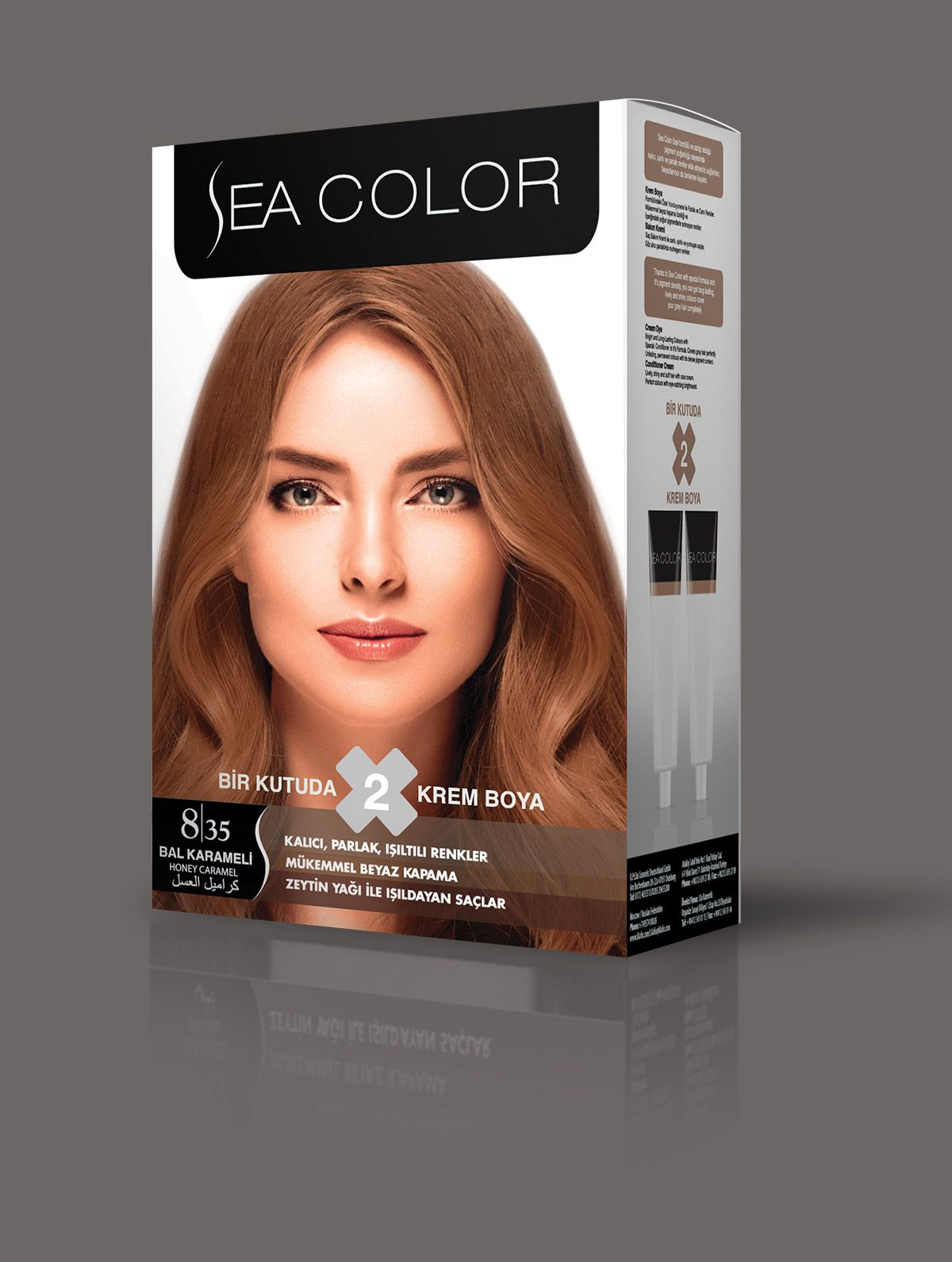 Sea Color Sac Boyasi 8 35 Bal Karameli Sac Boyasi Renkler Sac