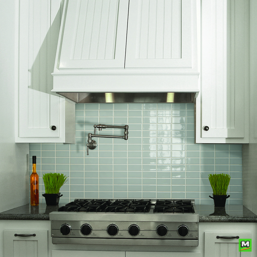 - Make Your Kitchen Pop With This Gloss Gray Tile! The Mohawk