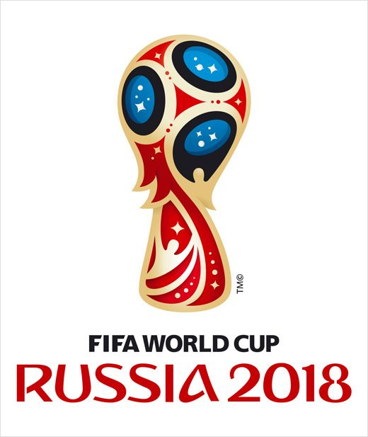 Official 2018 Fifa World Cup Russia Logo Revealed Logo Designer World Cup Logo Russia World Cup World Cup