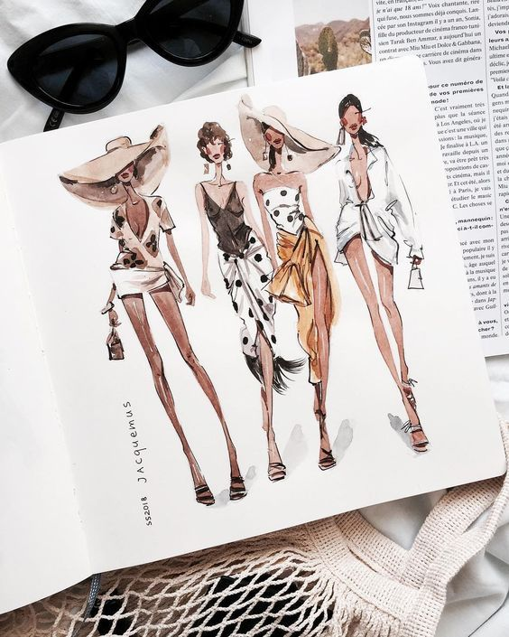 Photo of Fashion Sketching (Ages 14 and up) Adults also welcome