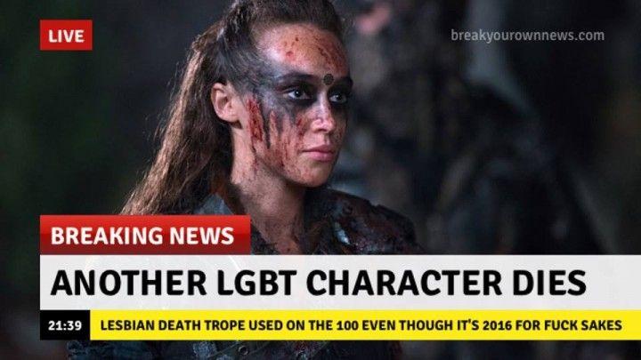 Lexa ar single gay men