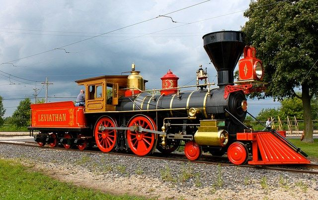 This Locomotive Is New Built Within The Last 10 Years