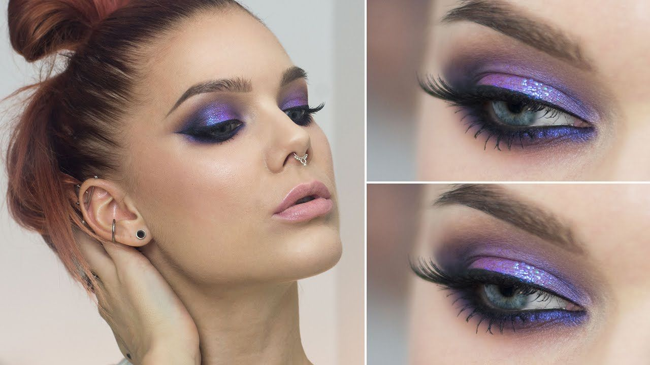 Chanels Glitter Eye Makeup, in the Wild foto