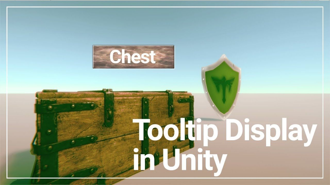 Create a Tooltip Display on mouse hover #unity #3d #game