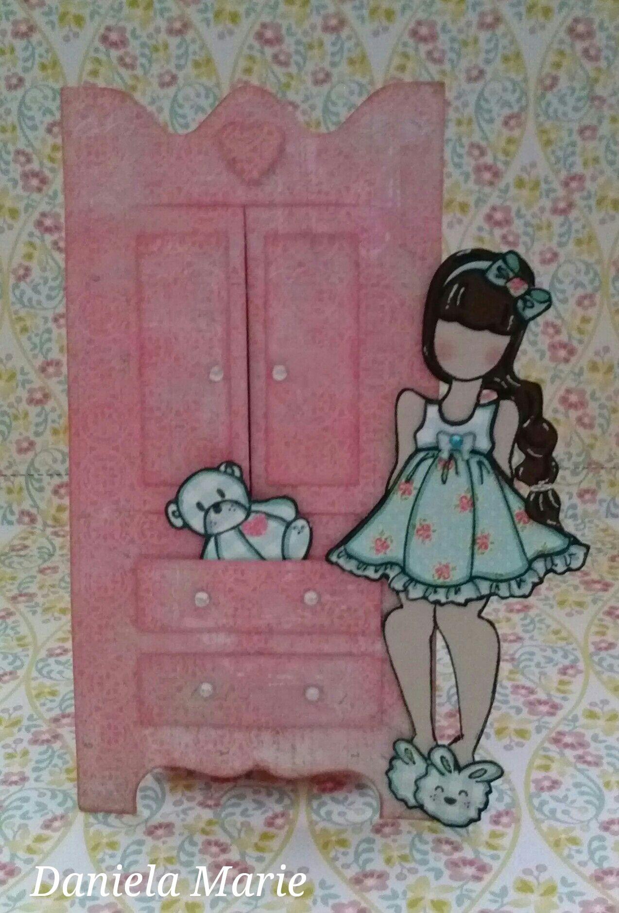 Little Girl Armoire ♥ By Daniela Alvarado.