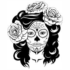 Resultado De Imagem Para Caveira Mexicana Para Pintar Com Imagens