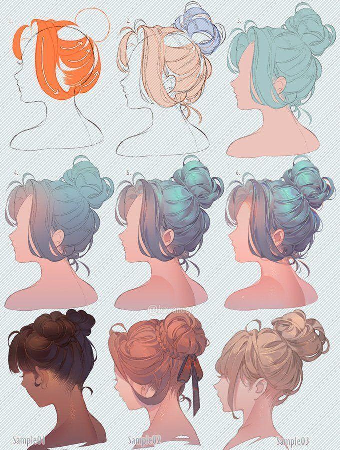 """Photo of Nouveau   Aucun coût  Drawing hair  Style,Y CY sur Twitter: """"Dessine des cheveux …"""" – #SUR …"""