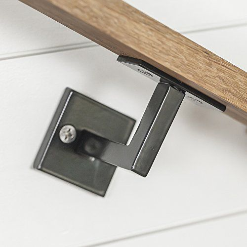 Minimal Modern Handrail Bracket Stair Rail Our Minimal Handrail Bracket 1 2 Solid Steel Square Bar Bracket Piece Of Handrail Brackets Handrail Step Railing