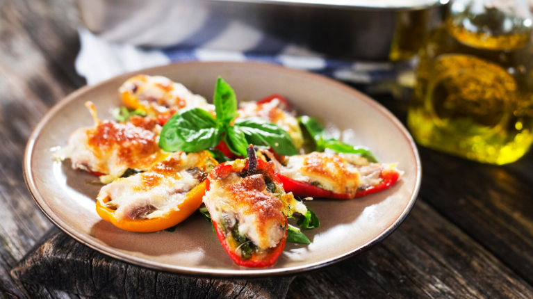 Mini-Paprika mit Sardinen Rezept