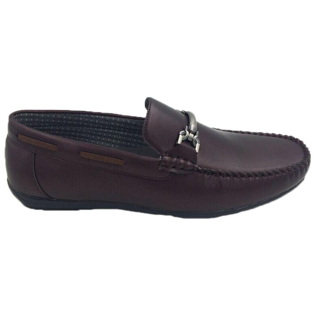 Mecca Mens Slip-on Loafer Driver Shoes