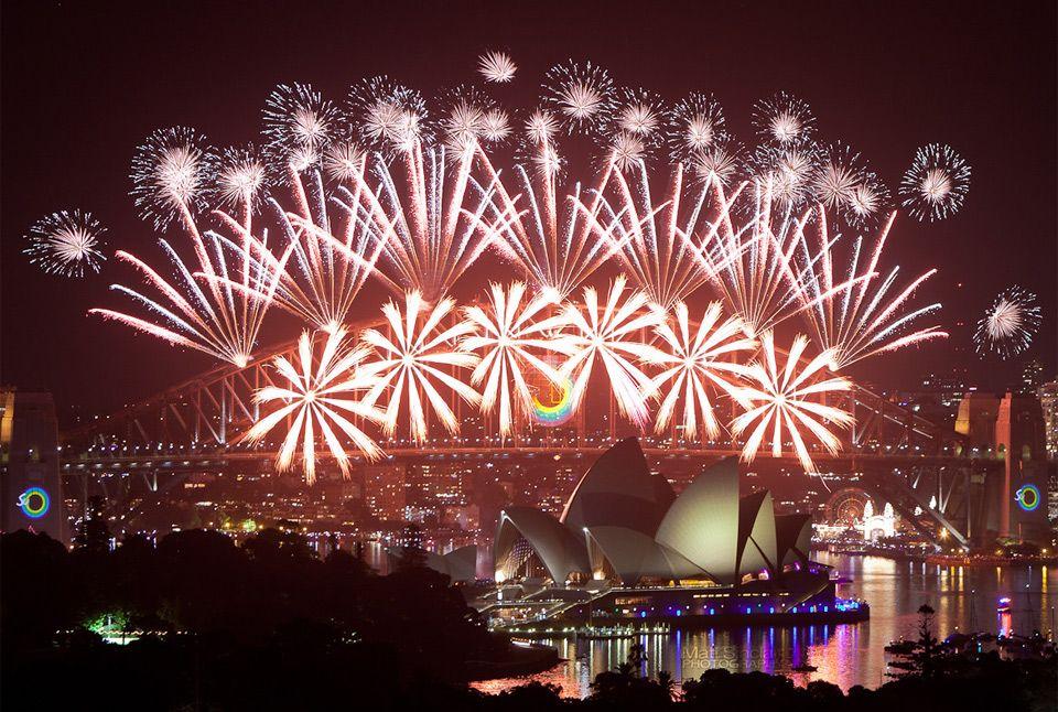 Happy New Year From Sydney Australia New Year Fireworks New Years Eve Fireworks Best Fireworks